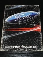 Das Ford PKW programm 1983