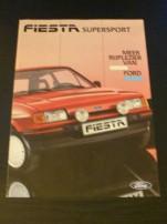 Fiesta SUPERsport Meer rijplezier van Ford